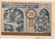 75 Pfennig (Hunting Series - Issue 5) – reverse