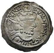 1 Drachm - Khunak (Bukhar Khudat; Samarqand) – obverse