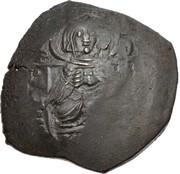 Trachy - Petar IV / Ivan I Asen (Imitating BI aspron trachy of Isaac II Angelus) – obverse
