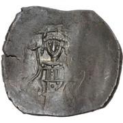 Trachy - Petar IV / Ivan I Asen (Imitating BI aspron trachy of Isaac II Angelus) – reverse