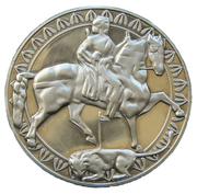 50 Leva (Madara Equestrian Figure) – reverse