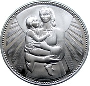 50 Leva (Mother and Child) – reverse