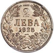 2 Leva - Boris III (Essai) – reverse