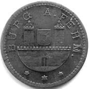 10 Pfennig - Burg auf Fehmarn – obverse