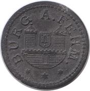 5 Pfennig - Burg auf Fehmarn – obverse
