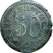 50 Pfennig - Burg auf Fehmarn – reverse