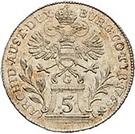 5 Kreuzer - Maria Theresia – reverse