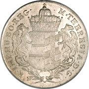 1 Thaler - Maria Theresia (Gunzburg) -  obverse