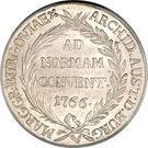 1 Thaler - Maria Theresia (Gunzburg) – reverse