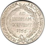 1 Thaler - Maria Theresia (Gunzburg) -  reverse