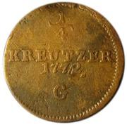 ¼ Kreutzer - Maria Theresia – reverse