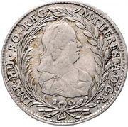 20 Kreuzer - Maria Theresia – obverse