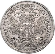 ½ Thaler - Maria Theresia -  reverse