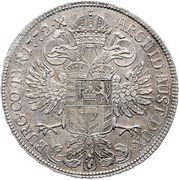 ½ Thaler - Maria Theresia – reverse