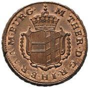 ½ Kreutzer - Maria Theresia -  obverse