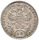 10 Kreuzer - Maria Theresia – reverse