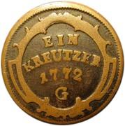 1 Kreutzer - Maria Theresia – reverse