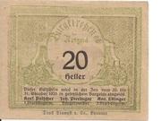 20 Heller (Burgkirchen) -  obverse