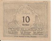 10 Heller (Burgkirchen) -  obverse