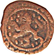 Double Denier - Alberto and Isabella (2nd type) – reverse