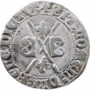 1 Gros (à la croix) - Charles le Temeraire – reverse