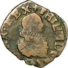 Double Denier - Philippe IV – obverse