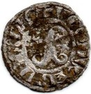 Denier - Hugues III et IV (ducs de Bourgogne) – obverse