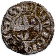Denier - Hugues III et IV (ducs de Bourgogne) – reverse