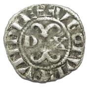 Digenois au trèfle en 1 et 4 - Hugues IV – obverse