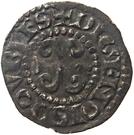 Double denier de Bourgogne - Robert II – reverse