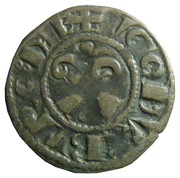Denier - Hugues III – obverse
