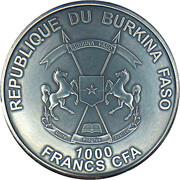 1000 Francs CFA (Nicolaus Copernicus) – obverse
