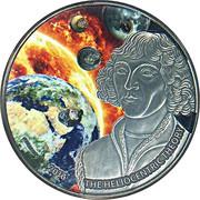 1000 Francs CFA (Nicolaus Copernicus) – reverse