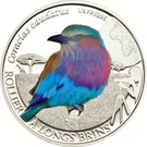 500 Francs CFA (Lilac Breasted Roller) – reverse