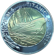 50 Francs CFA (RMS Titanic Sinking) – reverse