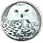 1000 Francs CFA (The snowy Owl) – reverse