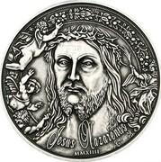 1000 Francs CFA (Jesus of Nazareth) – reverse