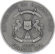 1000 Francs CFA (Alexander Selkirk) – obverse
