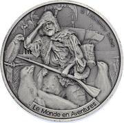1000 Francs CFA (Alexander Selkirk) – reverse
