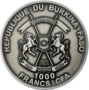 1000 Francs CFA (Moses Exodus) – obverse