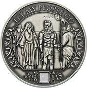 1000 Francs CFA (Moses Exodus) – reverse