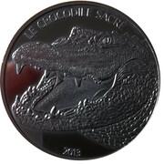 1000 Francs CFA (Crocodile) – reverse