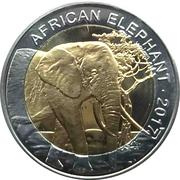 50 Francs CFA (Elephant) – reverse