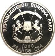 1000 Francs CFA (Aphrodite) – obverse