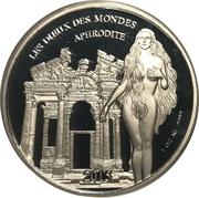 1000 Francs CFA (Aphrodite) – reverse