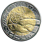 50 Francs CFA (Sea Turtle) – reverse