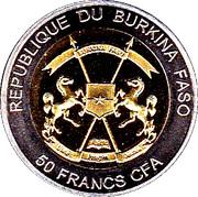 50 Francs CFA  (Andrea Doria) – obverse