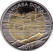 50 Francs CFA  (Andrea Doria) – reverse