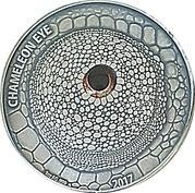1000 Francs CFA (Chameleon Eye) – reverse