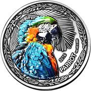 1000 Francs CFA (The Parrot) – reverse